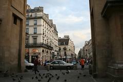 Rue Saint Denis (Marc Ben Fatma - visit sophia.lu and like my FB pa) Tags: street paris france arch strasse triomphe rue arche perpective saintdenis perspectiv