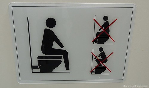 Japanese Toilet Signs