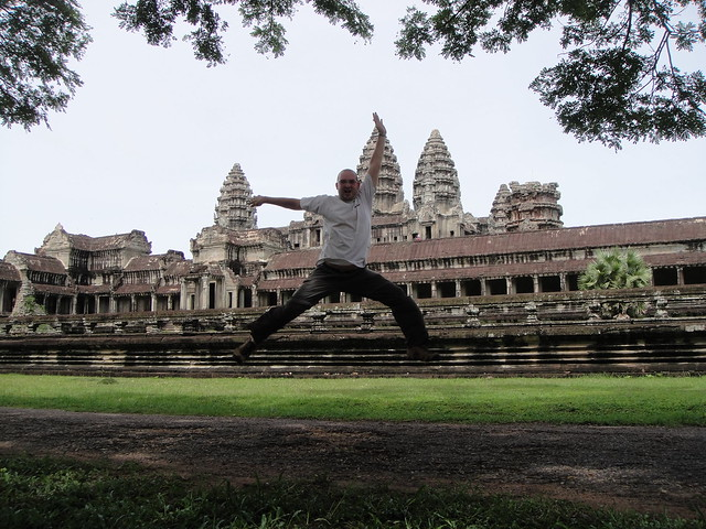 First take off @angkor wat