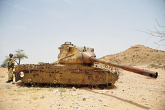 7a. A Russian tank left over from the civil war in the late 80s between Hargeisa and Berbera