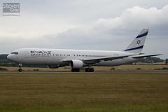 4X-EAK - 27600 - El Al Israel Airines - Boeing 767-3Q8ER - Luton - 100714 - Steven Gray - IMG_7286