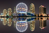 Vancouver -  BC Canada (kevin mcneal) Tags: nightphotography canada vancouver reflections bravo cityscape britishcolumbia sciencecenter 2010olympics lowlightphotography vancouvertourism