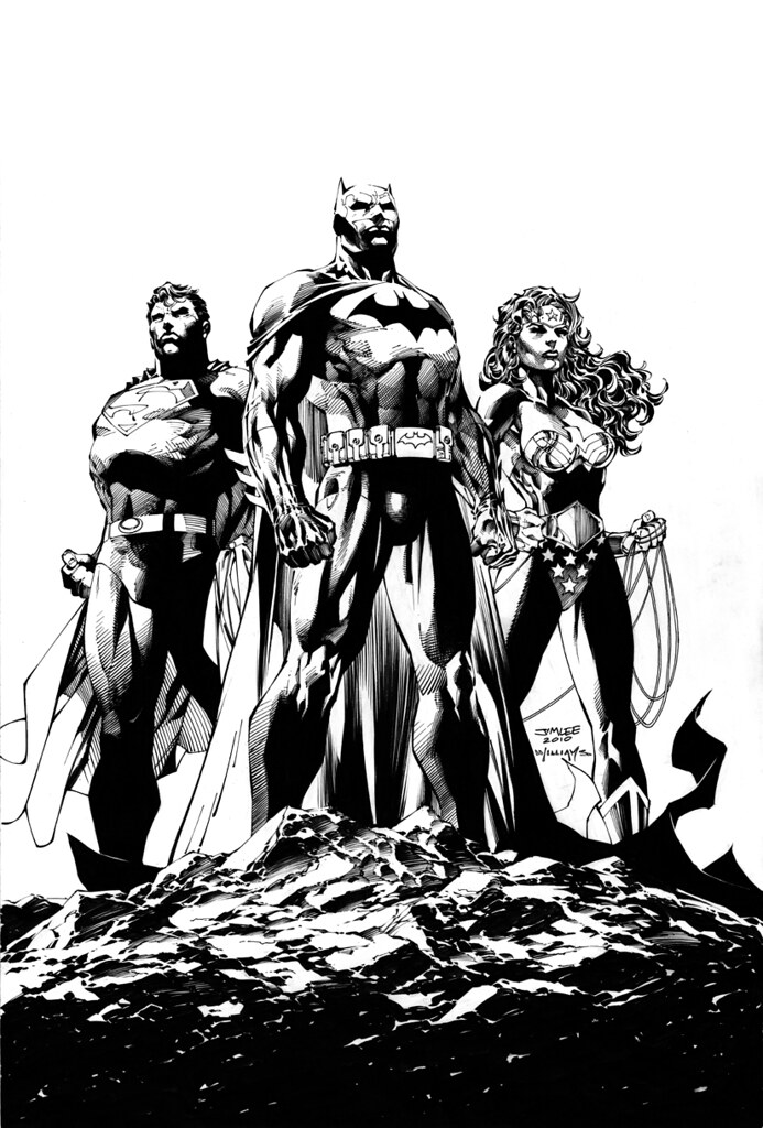 Jim Lee Scott Williams final ICONS cover