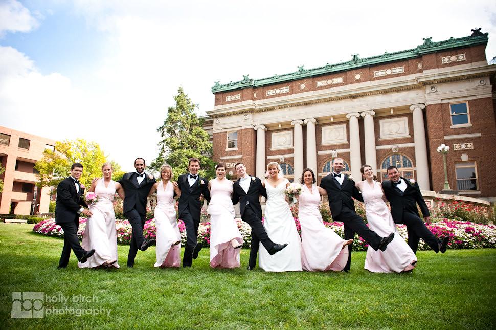 Katie + TJ | Champaign Hilton wedding