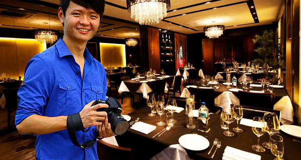 Ladyironchef (Brad Lau) at Private Affairs - composed web images via Ladyironchef's blog and Private Affairs' website