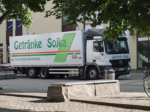 Mercedes Actros 2532 Truck - Getränke Sojka - a photo on Flickriver