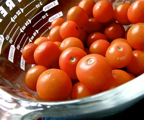 local sun gold cherry tomatoes
