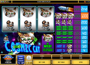 Cosmic Cat  slot game online review