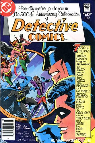 Detective Comics 500