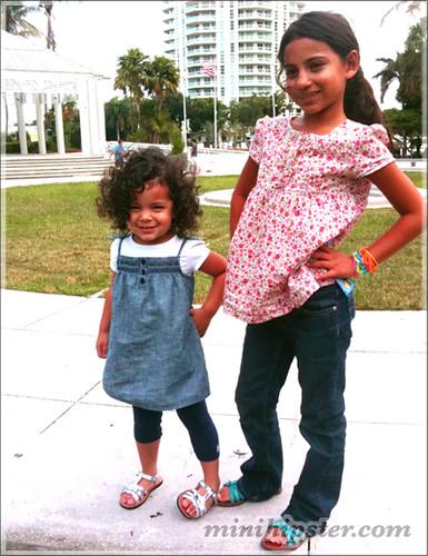 Cousins in Miami... MiniHipster.com: kids street fashion (mini hipster .com)