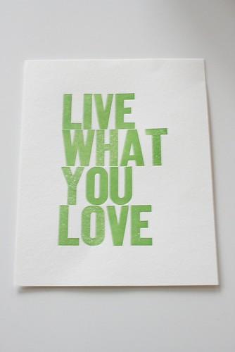 Love this print...