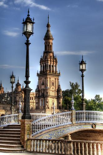 Seville. Plaza de España. Sevilla