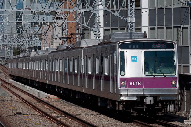 東京地下鉄半蔵門線8000系8118F 試運転