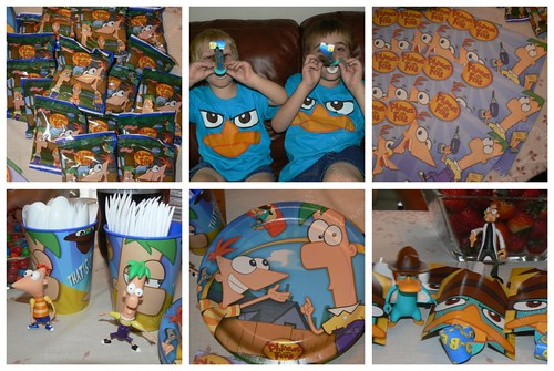 Phineas and Ferb B-day Style