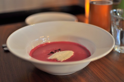 cream of beet soup