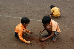 Boys just wanna have fun (Raju Bist) Tags: india playing boys ground maharashtra thane maidan