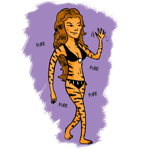 Former Avengers You Do Not Want On Your Avengers Team:  Tigra