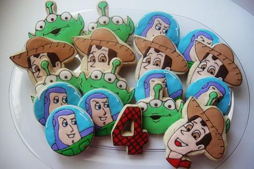 Toy Story Cookies/ Facebook: Sugar Sanctuary