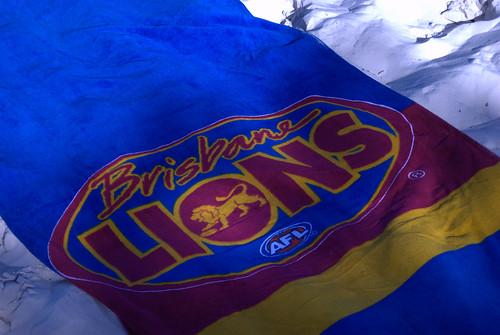 Brisbane Lions towel