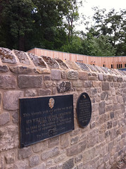 Friends of Jesmond Dene plaque