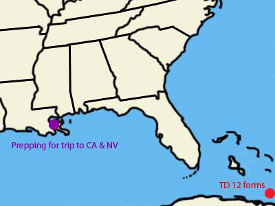 20050823 Katrina Timeline
