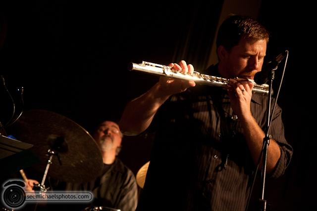 Joshua White Quartet at Dizzys 82610 © Michael Klayman-017