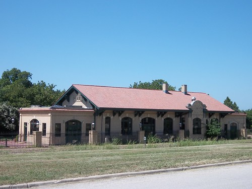 Union Passenger Depot, Brady, Texas by fables98