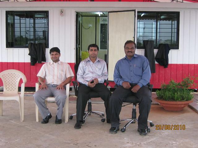 Pankaj, Nishant & Jitendra