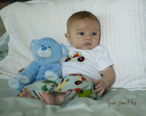 Eli 4 months