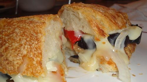 Eggplant and Havarti Sandwiches茄子奶酪三明治