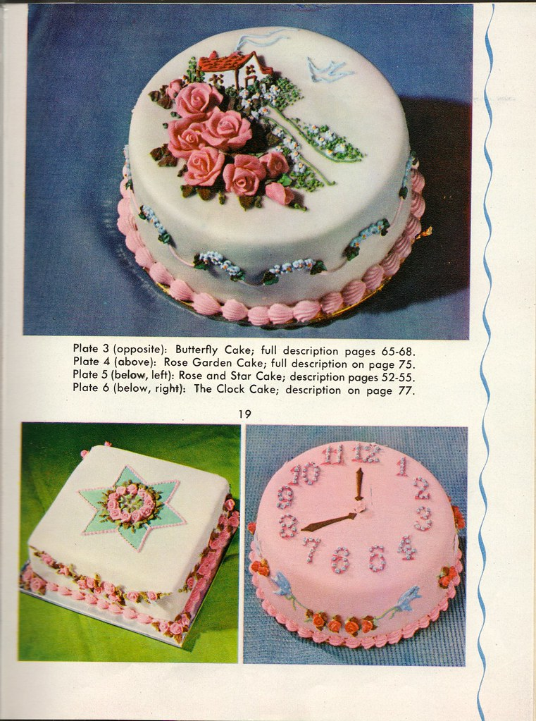 Cakes, 1960's style