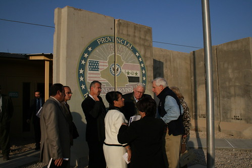 <b>Rep. Frank Wolf and Rep. Joseph Pitts visit Iraq</b>