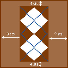 Large-Double Argyle Overview