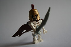 In the shadows (Spielbrick Films) Tags: dead skeleton greek lego undead minifig skeletal minifigure