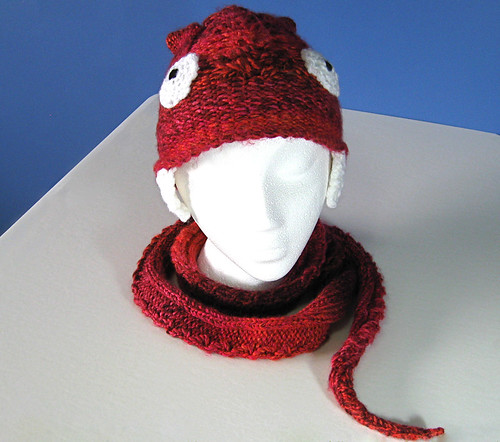 Snake Hat-Scarf loom-a-long