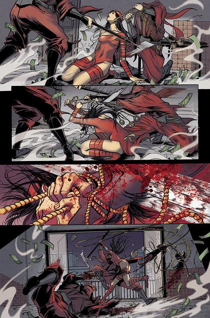 Shadowland:Elektra in stores