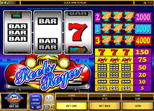 Reels Royce slot game online review