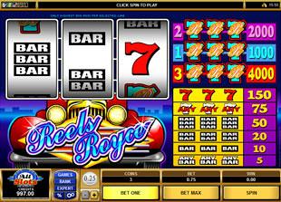 Reels Royce slot game online review