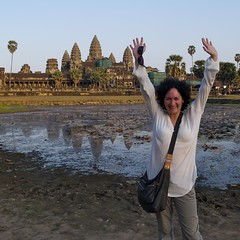 Happy in Angkor Wat (Luca Penati) Tags: travel history architecture temple ancienthistory ancient ruins asia cambodia southeastasia raw khmer culture buddhism angkorwat unesco worldheritagesite temples siemreap angkor ancientcivilization ancientruins worldheritagesites heritagesite khmerart ancientcivilizations ancientruin