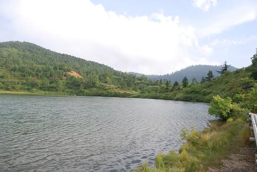 白根山・湯釜・弓池