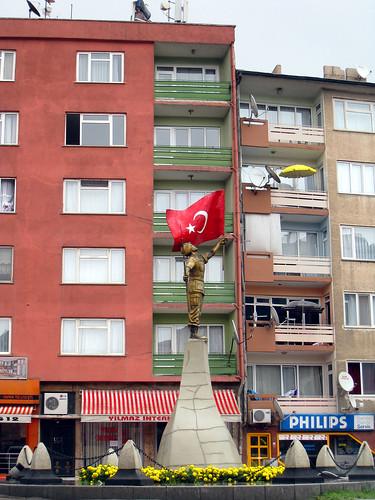 Statue at Bilecik