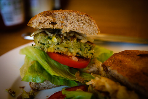 Midsummer Vegetable Burger
