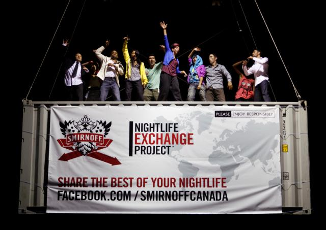 The Smirnoff Nightlife Exchange Project with USS (Ubiquitous Synergy Seeker)