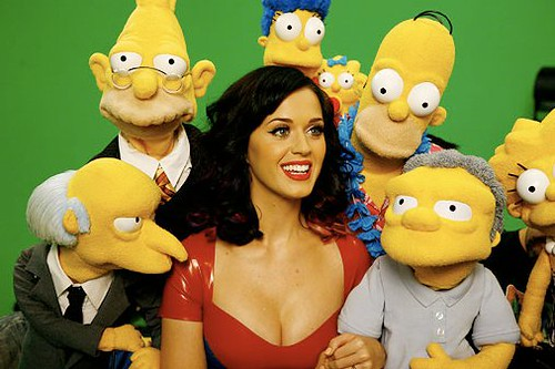 Katy Perry and the Simpsons