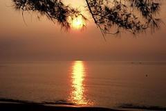 Sunset : Tanjung Jara (Mandy ML Chen) Tags: sunset film sunrise nikonfm2 nikonfa kualaterengganu sigma24mm tanjungjara