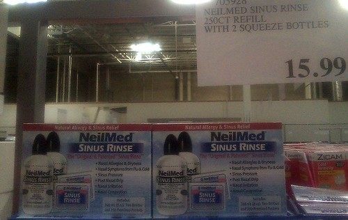 Sinus rinse - Costco