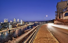 Light trails and Pittsburgh Skyline HDR (Dave DiCello) Tags: longexposure beautiful skyline photoshop nikon pittsburgh tripod lighttrails nikkor hdr highdynamicrange cs4 steelcity photomatix beautifulcities yinzer cityofbridges tonemapped theburgh pittsburgher grandviewave cs5 beautifulskyline d700 thecityofbridges coloreffex pittsburghphotography davedicello pittsburghcityofbridges steelscapes hdrefex beautifulcitiesatnight hdrexposed picturesofpittsburgh cityofbridgesphotography