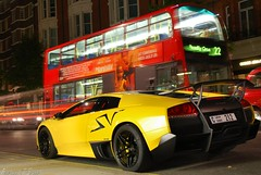 LP670-4 SV. [EXPLORED] (Richard T Smith) Tags: london night t dubai shot top gear smith harrods knightsbridge arab richard abu dhabi lamborghini sv 2010 supercars murcielago hypercar lp6704