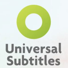 Logo for the project www.UniversalSubtitles.org.