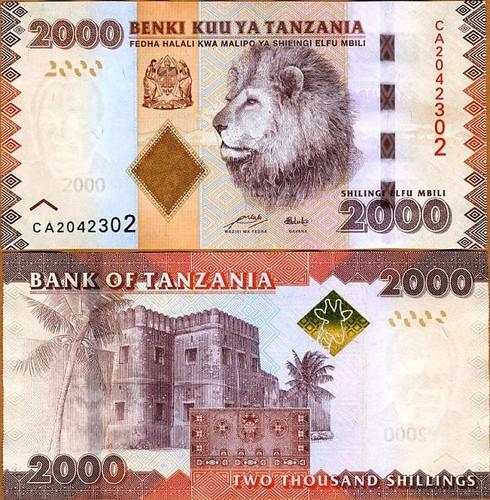2000 Šilingov Tanzánia 2010(11)
